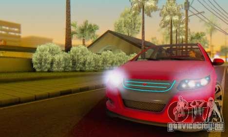 Cheval Surge V1.0 для GTA San Andreas вид сбоку