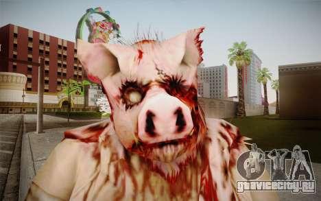 Piggsy Skin для GTA San Andreas третий скриншот