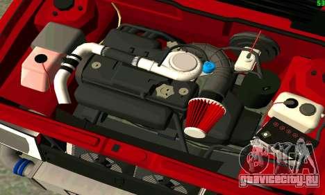 ВАЗ 2108 Turbo для GTA San Andreas салон