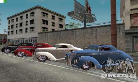 Lincoln Zephyr 1946 для GTA San Andreas
