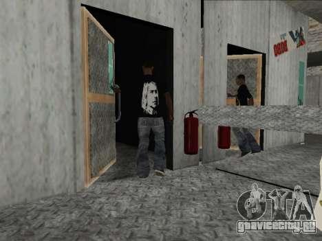 Новая Майка Nirvana and Kurt Cobain для GTA San Andreas третий скриншот