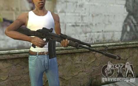 AK74M для GTA San Andreas третий скриншот