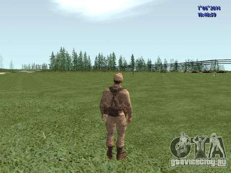 Afghanistan Soviet Soldiers для GTA San Andreas восьмой скриншот