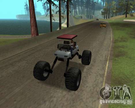 Caddy Monster Truck для GTA San Andreas