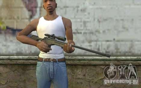 Arctic Warfare Super Magnum L115A1 для GTA San Andreas третий скриншот