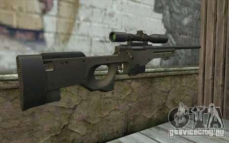 Arctic Warfare Super Magnum L115A1 для GTA San Andreas второй скриншот