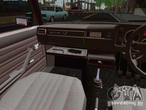 ВАЗ 2105 Riva для GTA San Andreas вид сзади