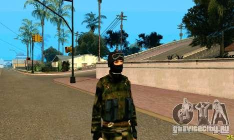 Боец Альфа Антитеррор для GTA San Andreas третий скриншот