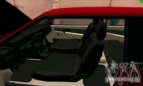 ВАЗ 2108 Turbo для GTA San Andreas вид сверху