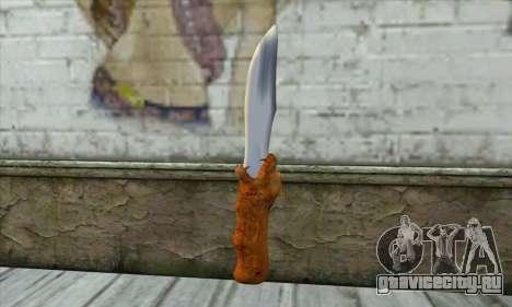 Коллекционный нож для GTA San Andreas