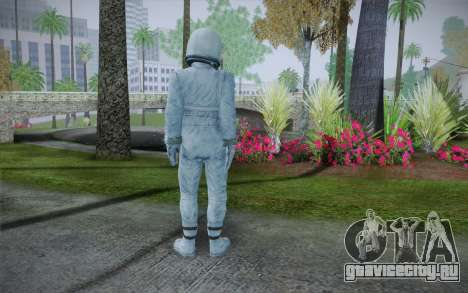 Spacesuit From Fallout 3 для GTA San Andreas второй скриншот
