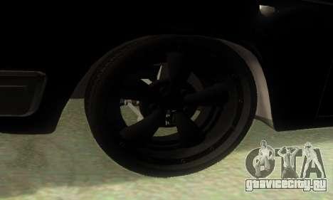 ГАЗ 3110 v8 MOPAR-Hot Rod для GTA San Andreas вид сзади слева