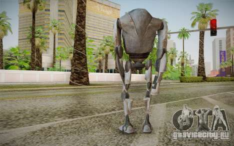 B2-Super Battle Droid skin для GTA San Andreas второй скриншот
