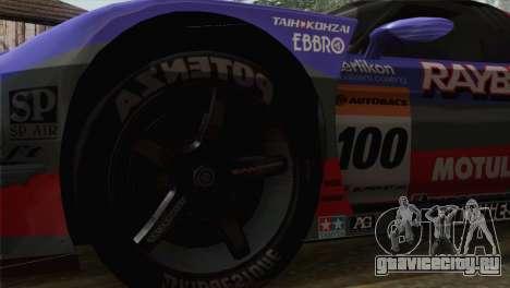 Honda NSX World Grand Prix для GTA San Andreas вид сзади слева