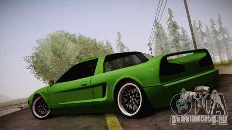 Infernus Racing Edition для GTA San Andreas вид слева