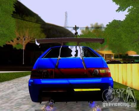 ВАЗ 2112 Tuneable для GTA San Andreas колёса