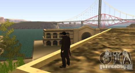 New Aiden Pearce для GTA San Andreas третий скриншот