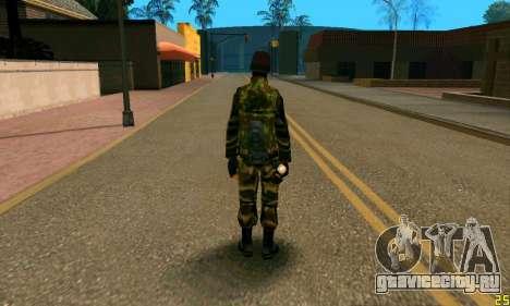 Боец Альфа Антитеррор для GTA San Andreas второй скриншот