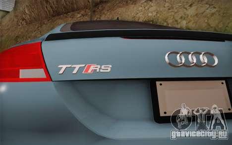 Audi TT RS 2011 для GTA San Andreas вид справа