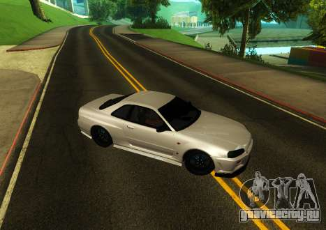 Nissan Skyline R34 V-Spec для GTA San Andreas