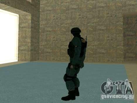 Скин СОБРа для GTA San Andreas пятый скриншот