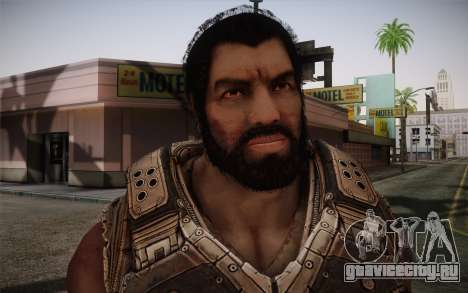 Dom From Gears of War 3 для GTA San Andreas третий скриншот