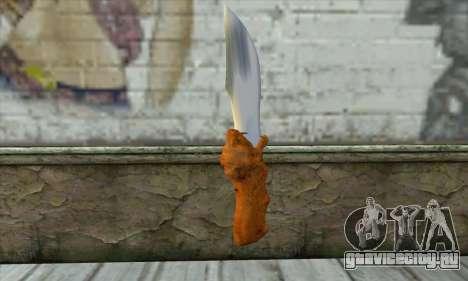 Коллекционный нож для GTA San Andreas второй скриншот