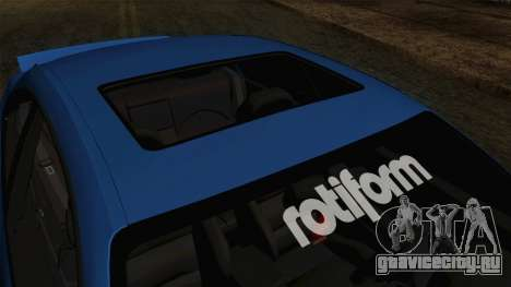 BMW M3 E46 STANCE для GTA San Andreas вид сзади