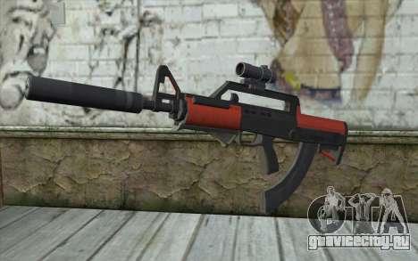 BullPup Rifle из GTA 5 для GTA San Andreas