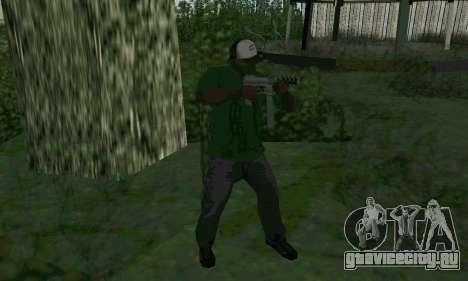 Новые характеристики оружия для GTA San Andreas