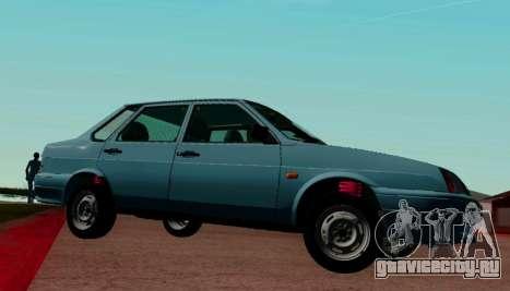 ВАЗ-21099 для GTA San Andreas вид слева