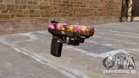Пистолет FN Five-seveN LAM Dots для GTA 4