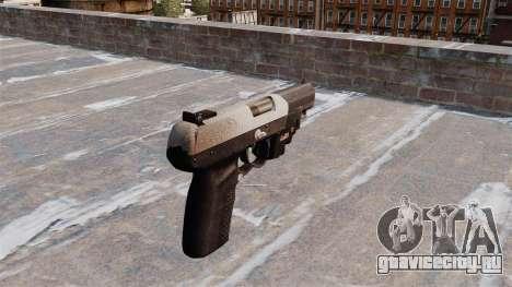Пистолет FN Five-seveN LAM Chrome для GTA 4 второй скриншот