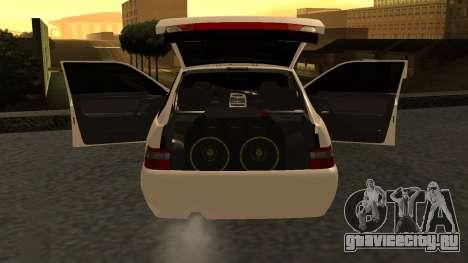 ВАЗ 2112 БПАН для GTA San Andreas вид слева