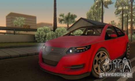 Cheval Surge V1.0 для GTA San Andreas вид сверху