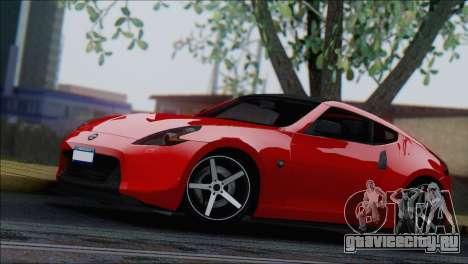 Nissan 370Z Vossen для GTA San Andreas