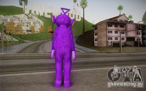 Тинки-Винки (Телепузики) для GTA San Andreas второй скриншот