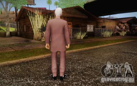Leslie William Nielsen для GTA San Andreas второй скриншот