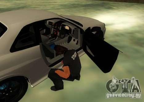 Nissan Skyline R34 V-Spec для GTA San Andreas вид сзади слева