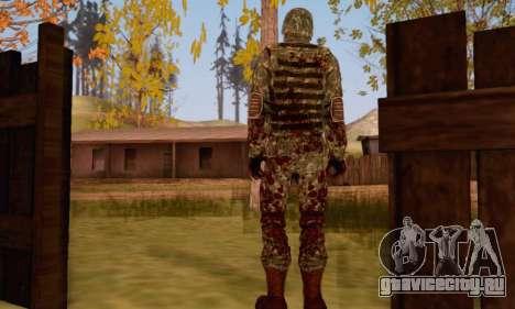 Zombie Soldier для GTA San Andreas
