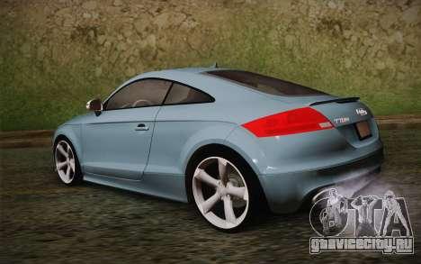 Audi TT RS 2011 для GTA San Andreas вид слева