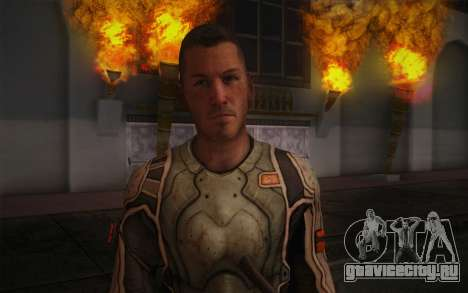 Lt. Nicholas Raine из Rage для GTA San Andreas третий скриншот