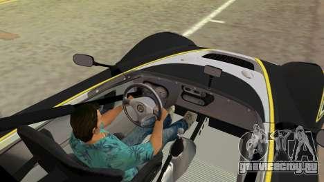 Lotus 2-Eleven для GTA Vice City вид сзади слева