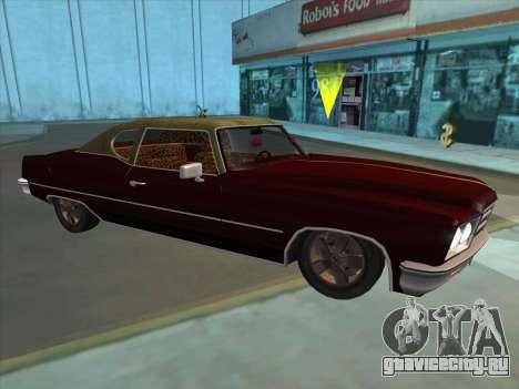 Yardie Lobo from GTA 3 для GTA San Andreas вид слева