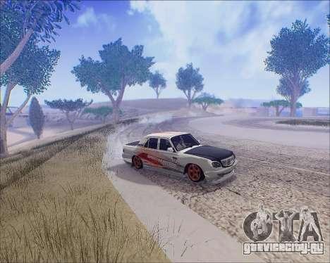 ГАЗ 31105 Tuneable для GTA San Andreas вид сбоку