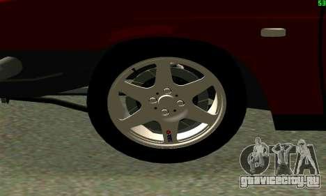ВАЗ 2108 Turbo для GTA San Andreas вид слева
