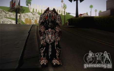 Theron Guard Cloth From Gears of War 3 v2 для GTA San Andreas второй скриншот