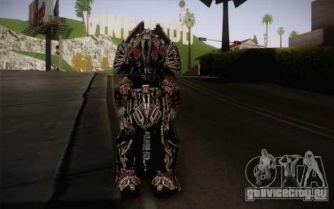 Theron Guard Cloth From Gears of War 3 v2 для GTA San Andreas второй скриншот
