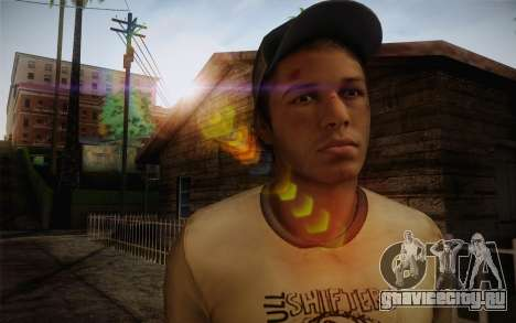 Ellis from Left 4 Dead 2 для GTA San Andreas третий скриншот