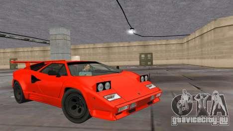 Lamborghini Countach LP5000 Extreme для GTA Vice City
